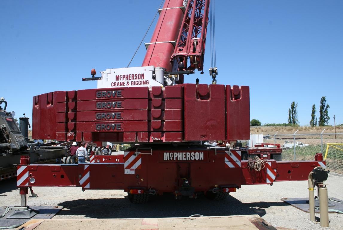 Tractor Hydraulic Boom Crane : Mc pherson crane rigging telescopic hydraulics